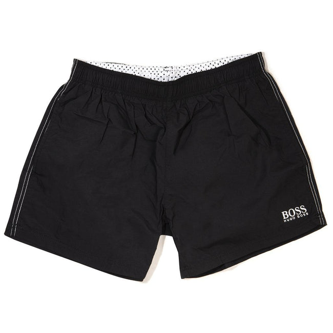 ed9f5192 BOSS Athleisure Perch Swim Shorts in Black Swimwear BOSS
