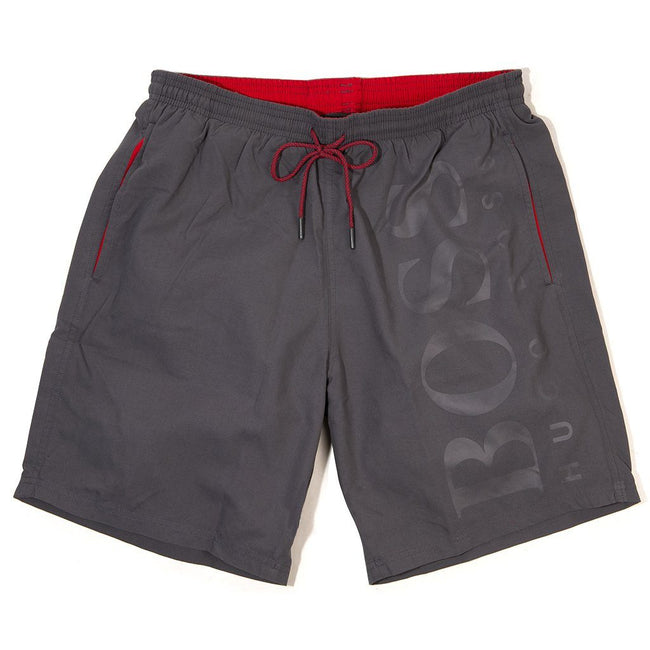 BOSS Athleisure Orca Swim Shorts in Grey