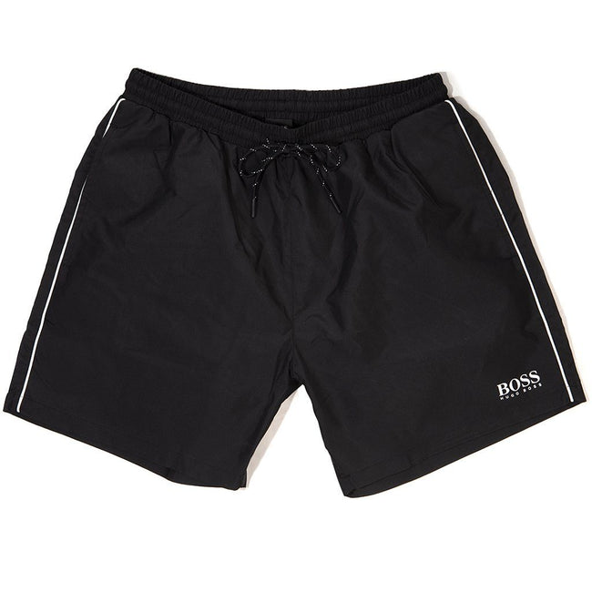 BOSS Athleisure Starfish Swim Shorts in Black Swimwear BOSS