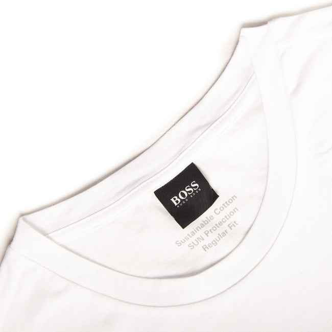 BOSS Bodywear T-Shirt RN UV-Protection in White T-Shirts BOSS