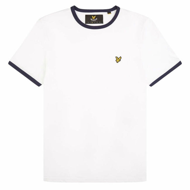 Lyle & Scott Ringer T-Shirt in White