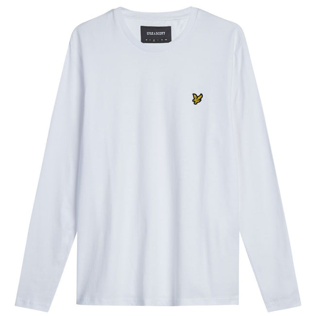 Lyle & Scott Long Sleeve T-Shirt in White