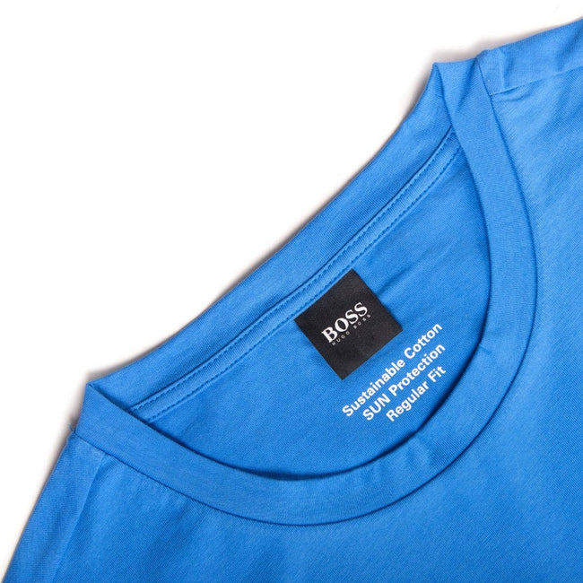 BOSS Bodywear T-Shirt RN UV-Protection in Blue T-Shirts BOSS