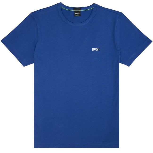 BOSS Athleisure Crew Neck Tee in Blue T-Shirts BOSS