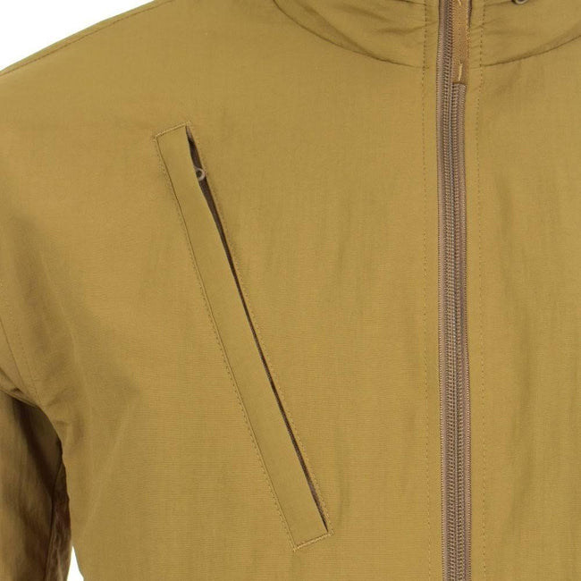 Fred Perry J5517 Packaway Hood Jacket in Coyote