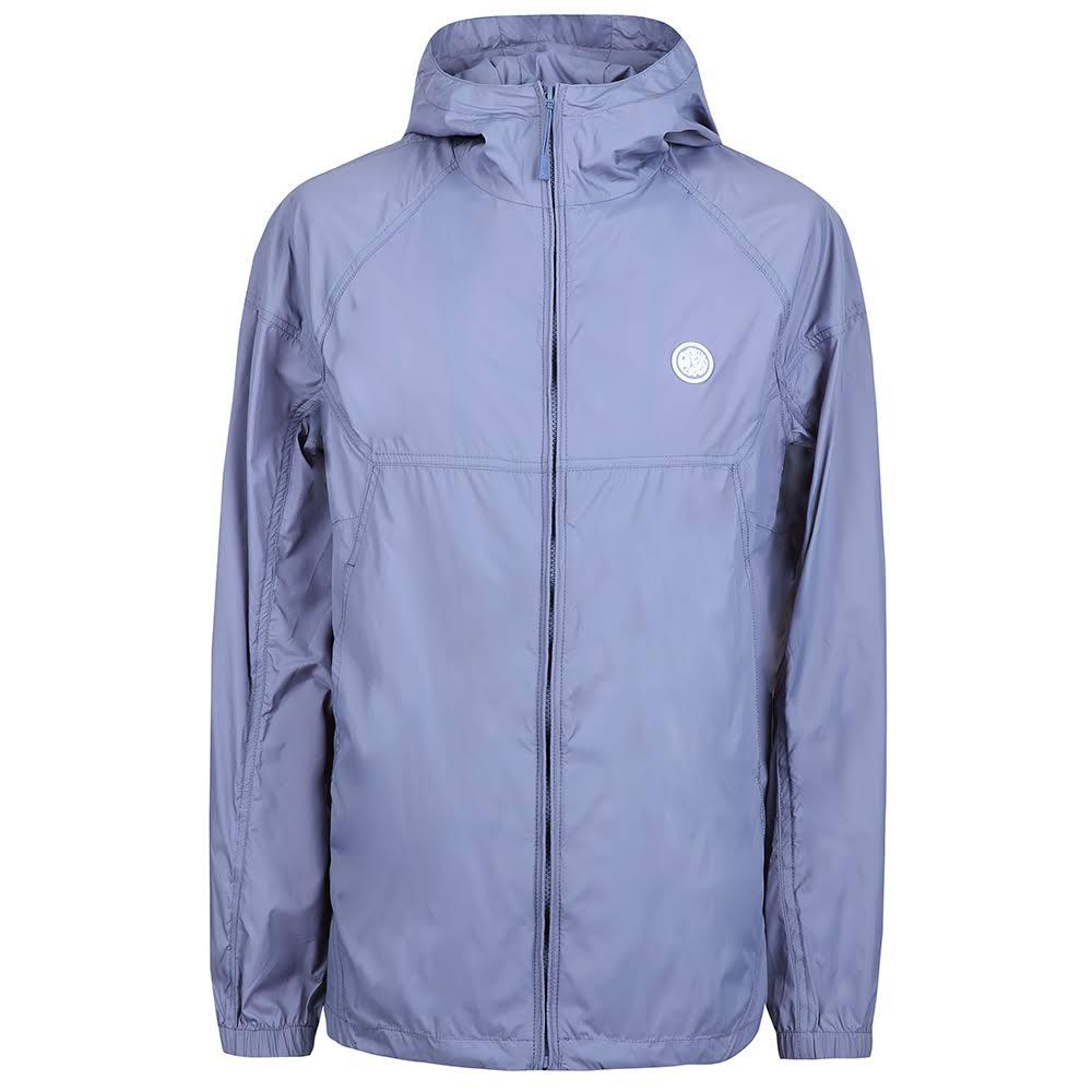 Pretty Green Lightweight Zip Hood Jacket in Blue