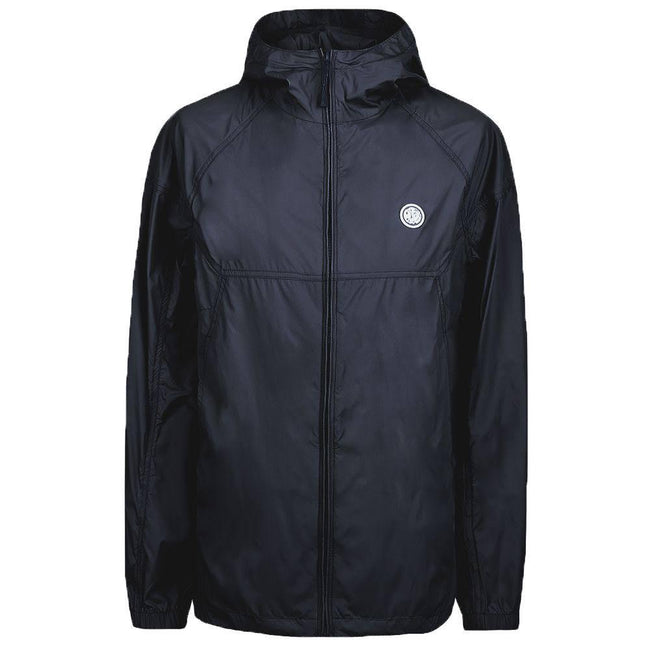 Pretty Green Lightweight Zip Hood Jacket In Black