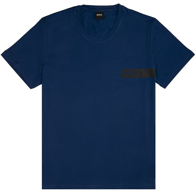 BOSS Bodywear T-Shirt RN in Navy T-Shirts BOSS