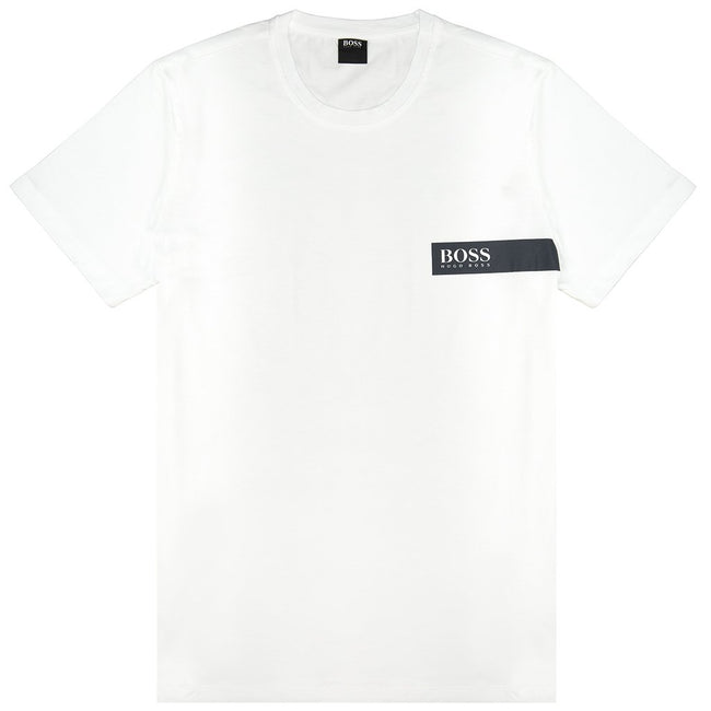 BOSS Bodywear T-Shirt RN in White T-Shirts BOSS