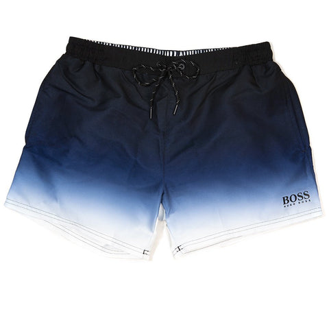 BOSS Athleisure Mandarinfish Swim Shorts in Blue Swimwear BOSS