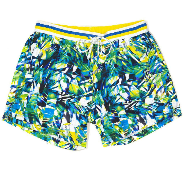 BOSS Athleisure Mandarinfish Swim Shorts in Yellow Swimwear BOSS