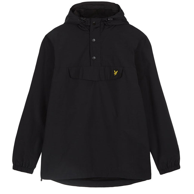 Lyle & Scott Overhead Anorak in Black