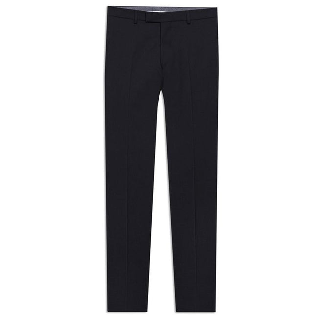 Oscar Jacobson Dave Wool Golf Trousers In Black