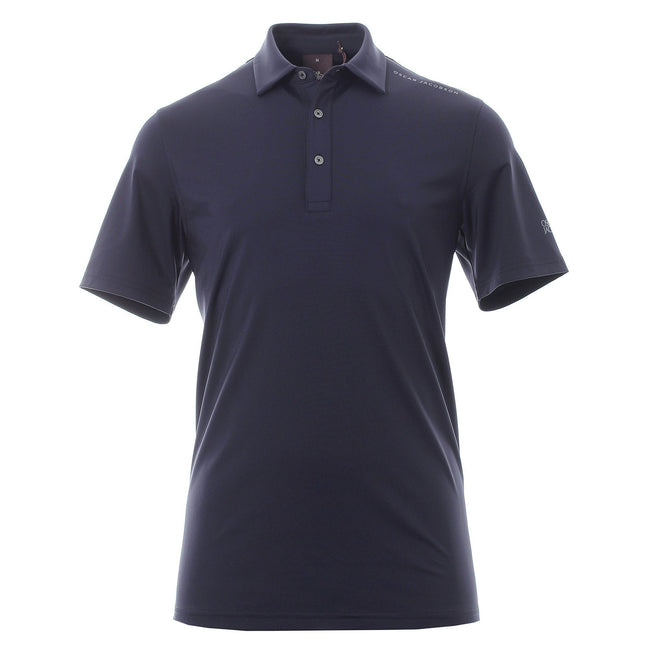 Oscar Jacobson Chap Course Polo in Navy