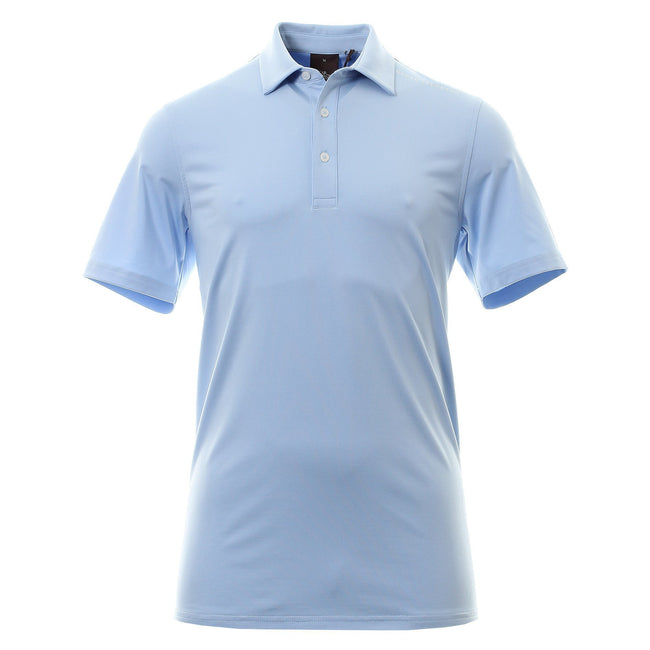 Oscar Jacobson Chap Course Polo In Light Blue