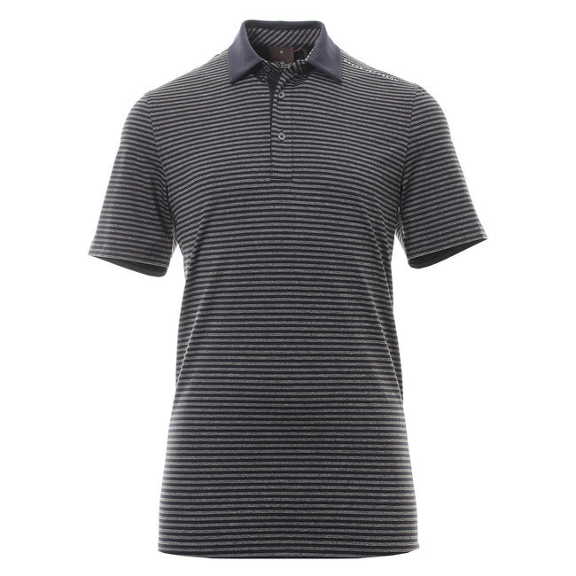 Oscar Jacobson Chester Course Polo Shirt in Dark Blue
