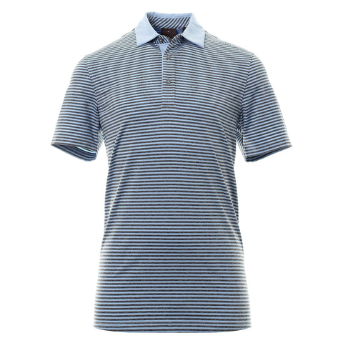 Oscar Jacobson Chester Course Polo Shirt in Light Blue Polo Shirts Oscar Jacobson