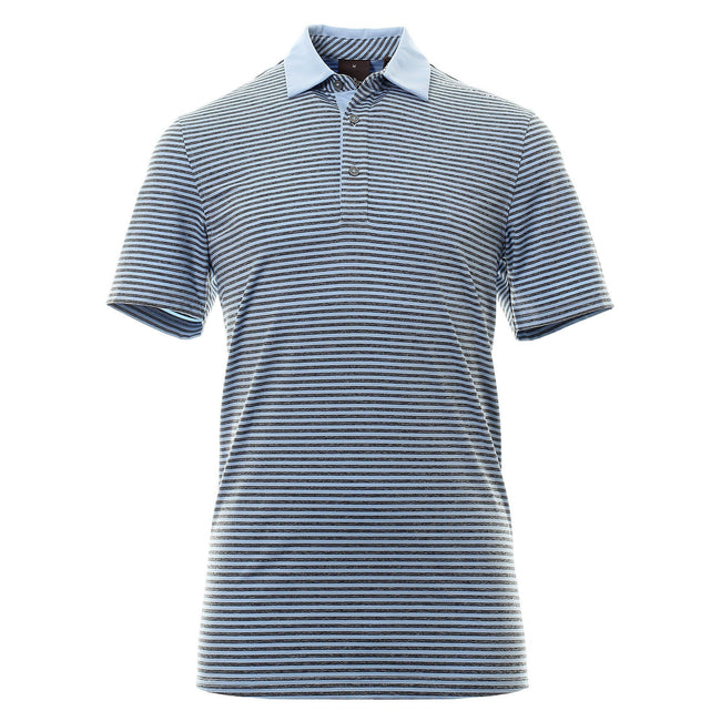 Oscar Jacobson Chester Course Polo Shirt in Light Blue