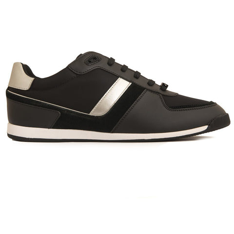 BOSS Athleisure Maze Lowp NYMX Trainer in Black Trainers BOSS