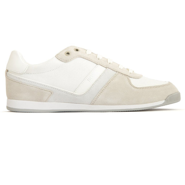 BOSS Athleisure Maze Lowp MX Trainers in White Trainers BOSS