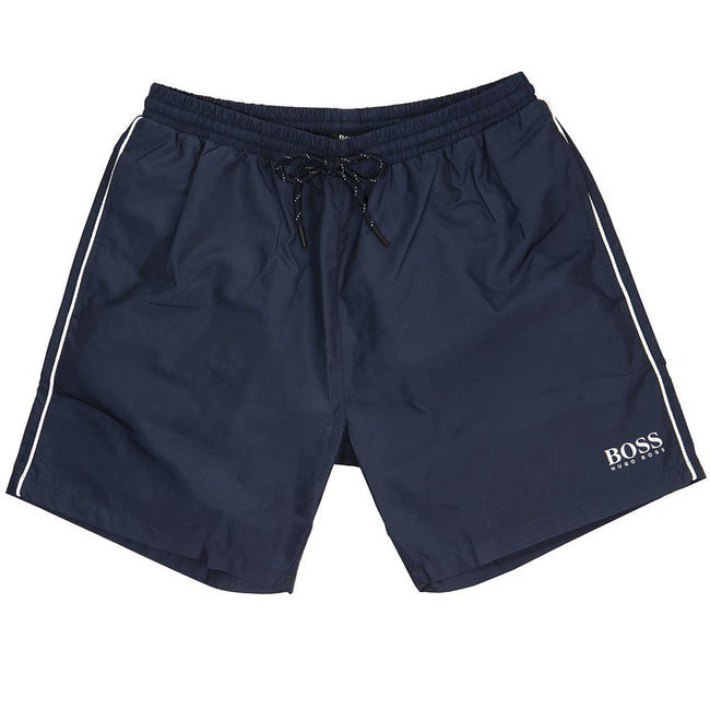 BOSS Athleisure Starfish Swimshorts in Navy Swimwear BOSS