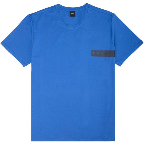 BOSS Bodywear T-Shirt RN in Blue T-Shirts BOSS