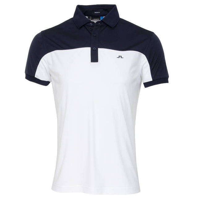 J. Lindeberg M Mateo Regular Fit TX Coolmax In White