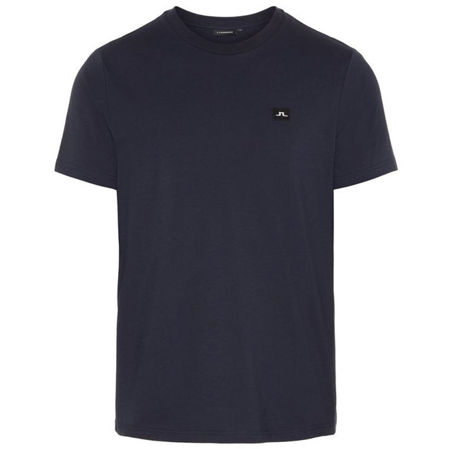 J. Lindeberg Bridge Short Sleeved Jersey T-Shirt In Navy