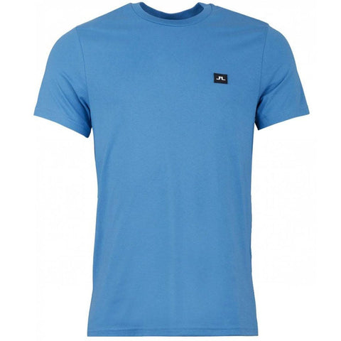 J. Lindeberg Troy Clean Pique Polo Shirt In Work Blue T-Shirts J. Lindeberg