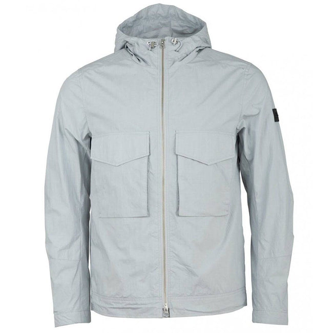 J. Lindeberg Bass Paper Cony Jacket in Stone Grey