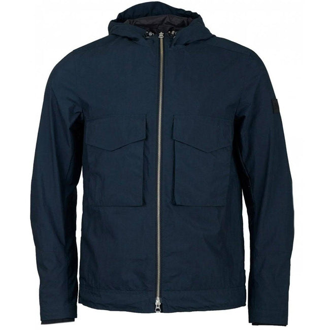 J. Lindeberg Bass Paper Cony Jacket In Navy