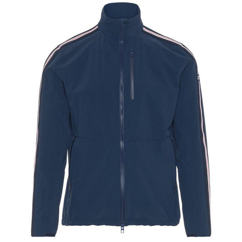 J. Lindeberg M Adapt Stripe Jacket in Navy Jacket J. Lindeberg