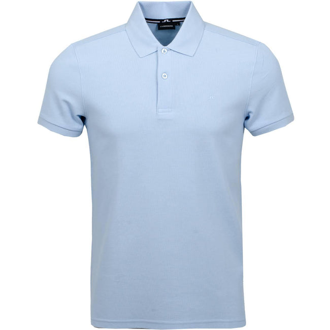 J. Lindeberg Troy Clean Pique Polo in Ice Polo