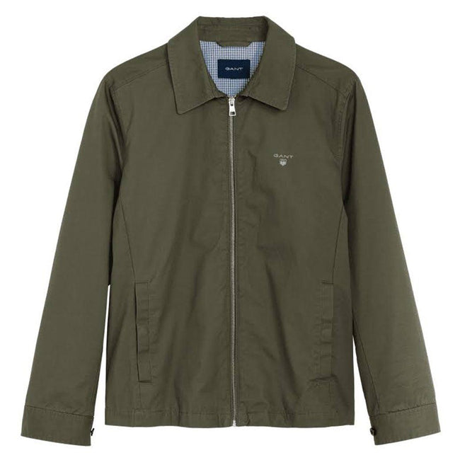 Gant Windcheater in Deep Lichen Green Coats & Jackets Gant