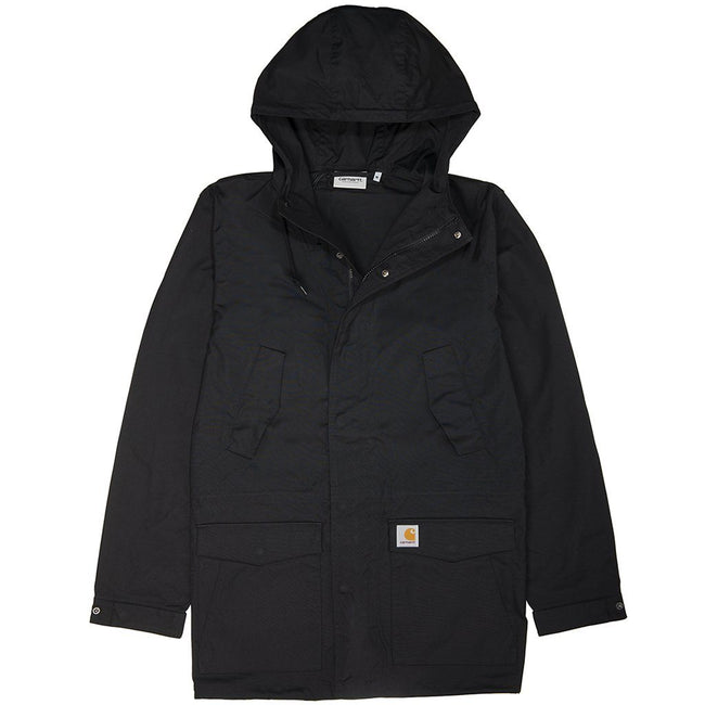 Carhartt Battle Parka in Black Coats & Jackets Carhartt