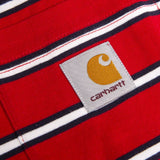 Carhartt Short Sleeved Houston Pocket T-Shirt in Cardinal