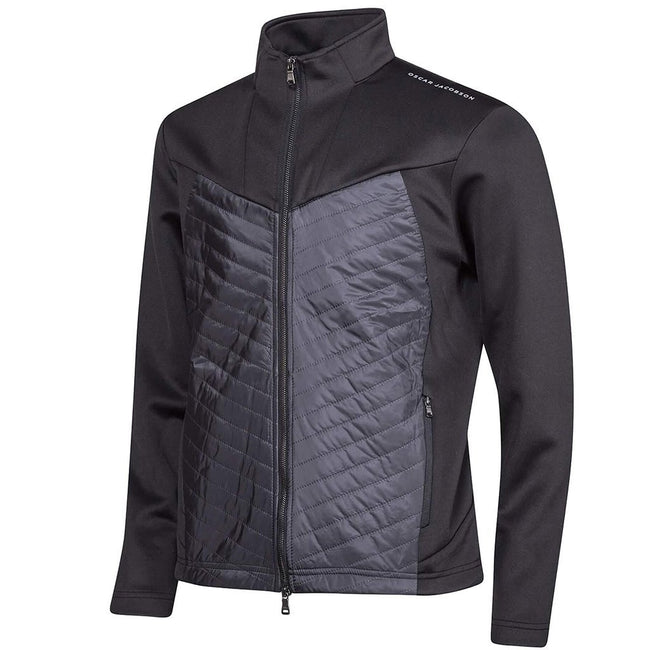 Oscar Jacobson Ross Course Golf Jacket in Black
