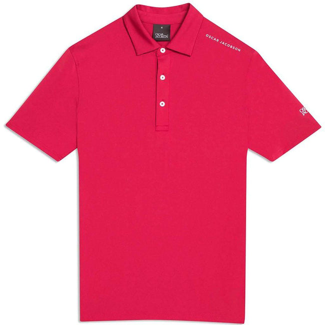 Oscar Jacobson Chap Course Polo Shirt in American Red