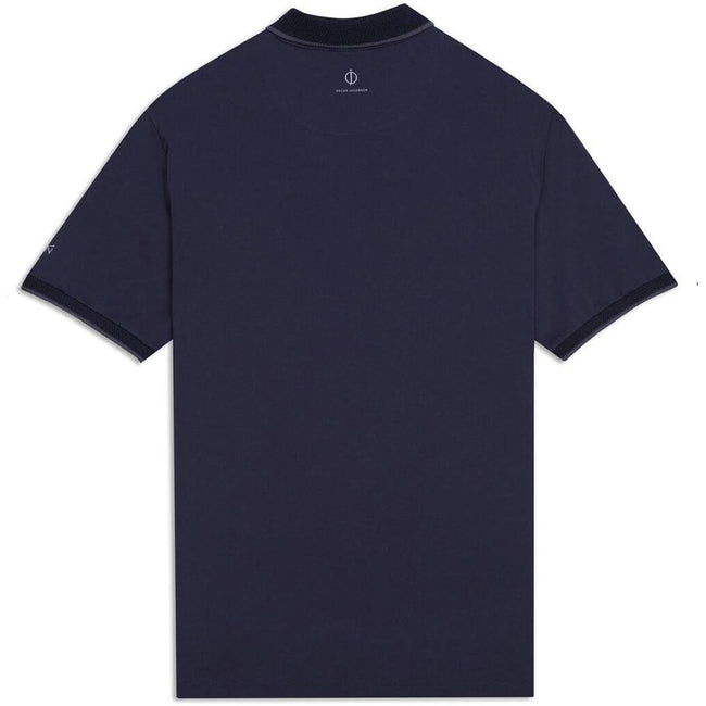 Oscar Jacobson Keaton Course Polo Shirt in Navy