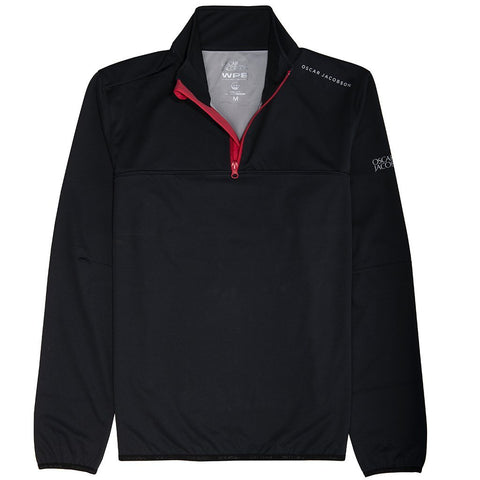 Oscar Jacobson Donovan Course Jacket in Black Jacket Oscar Jacobson
