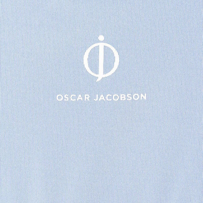 Oscar Jacobson Keaton Course Polo Shirt in Light Blue