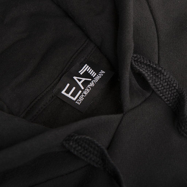EA7 Emporio Armani Hooded Sweatshirt in Black