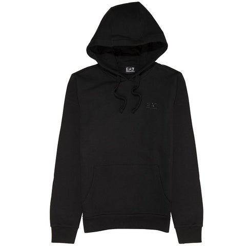 Emporio Armani EA7 Hooded Sweatshirt in Black Hoodies Emporio Armani EA7