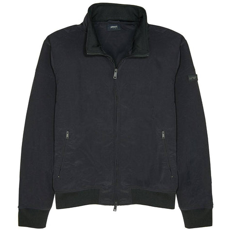 Armani Jeans Blouson Jacket in Navy Blue Coats & Jackets Edwards Menswear