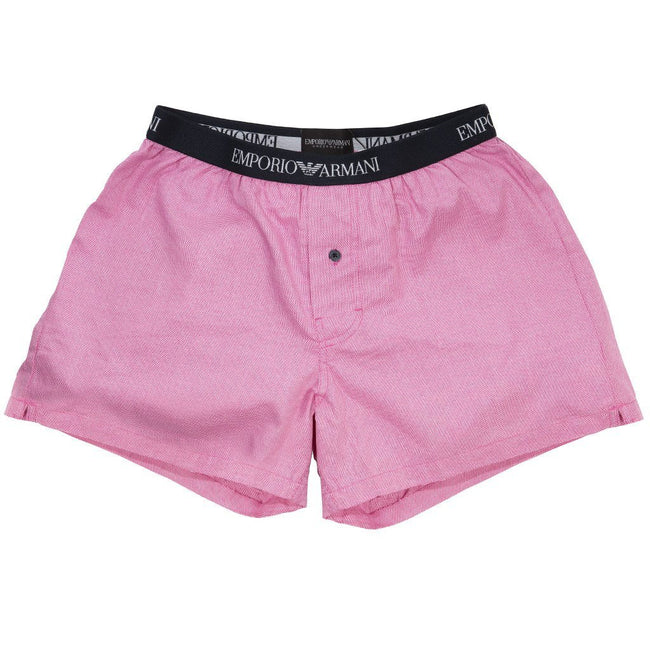 Emporio Armani Boxer in Oxford Rosa