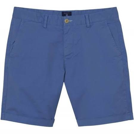 Gant Sunbleached Shorts in Mid Blue