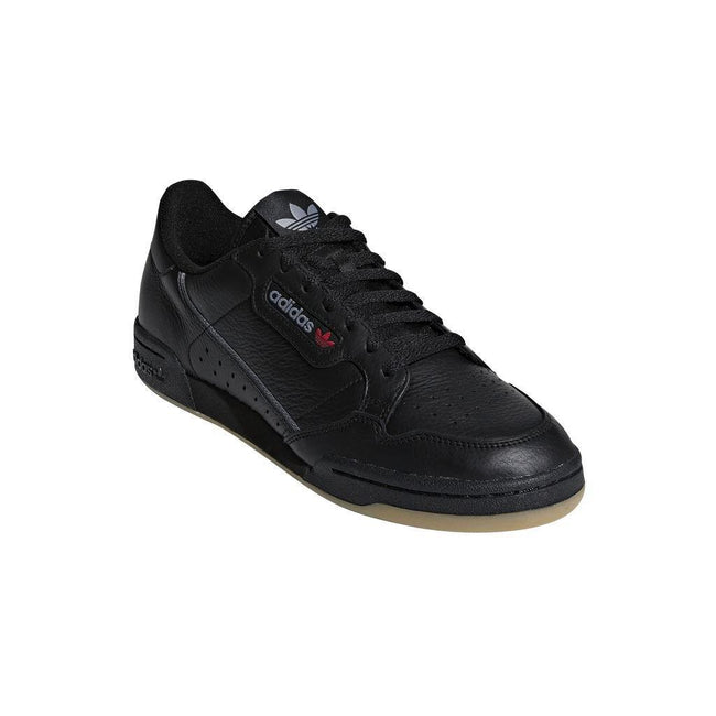 Adidas Continental 80's BD7797 Trainer in Black / Grey / Gum
