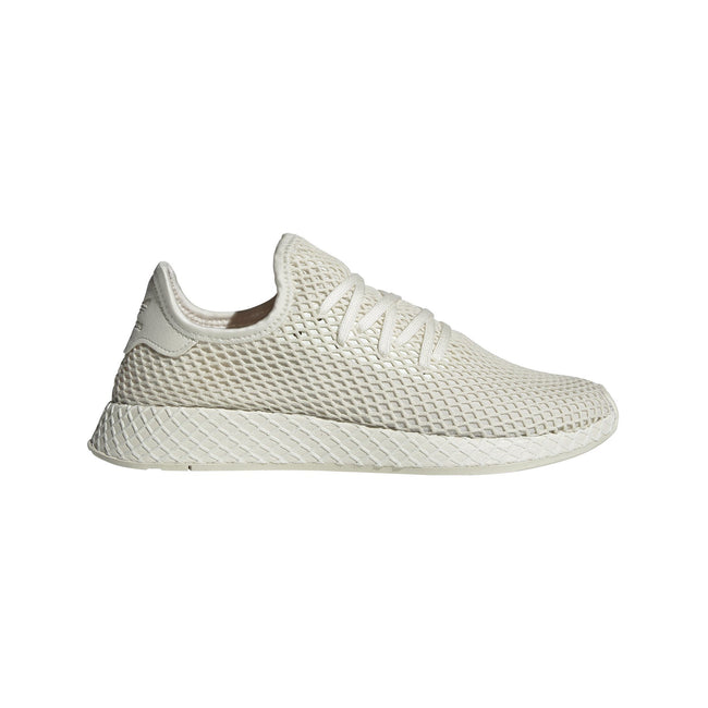 Adidas Deerupt BD7882 Trainers in Off White / White / Red