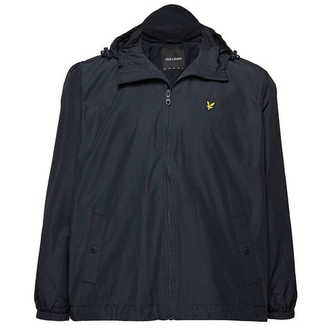 Lyle & Scott Microfleece Lined Parka in Dark Navy Coats & Jackets Lyle & Scott