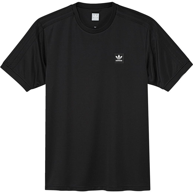 adidas DU8315 Club Jersey T-Shirt in Black T-Shirts adidas